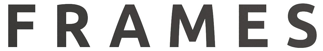 FRAMES Magazine